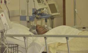 Lanto Rakotomanga se trouve encore au service de la réanimation à la Polyclinique d'Ilafy.