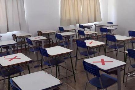 Salas de aula - covid