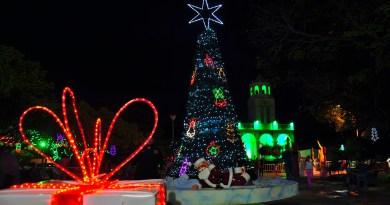 Bella iluminación navideña