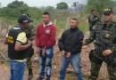Ejercito Nacional captura dos  extorsionistas pertenecientes al GAO ELN en La Guajira