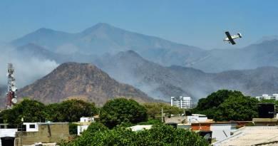 Operativos aéreos contra incendio forestal