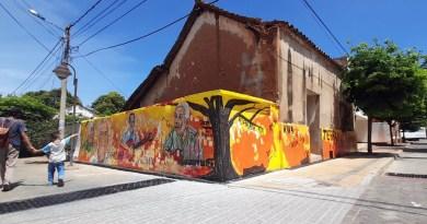 Mural Shanghái, puro vallenato