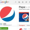Presença da Pepsi no Twitter, Facebook e Google+