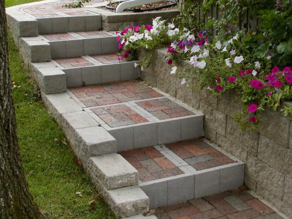 Steps Paver Stairs