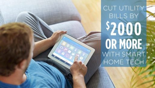 smart technology for your home and cut your utility bills