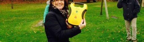 AED in gebruik genomen