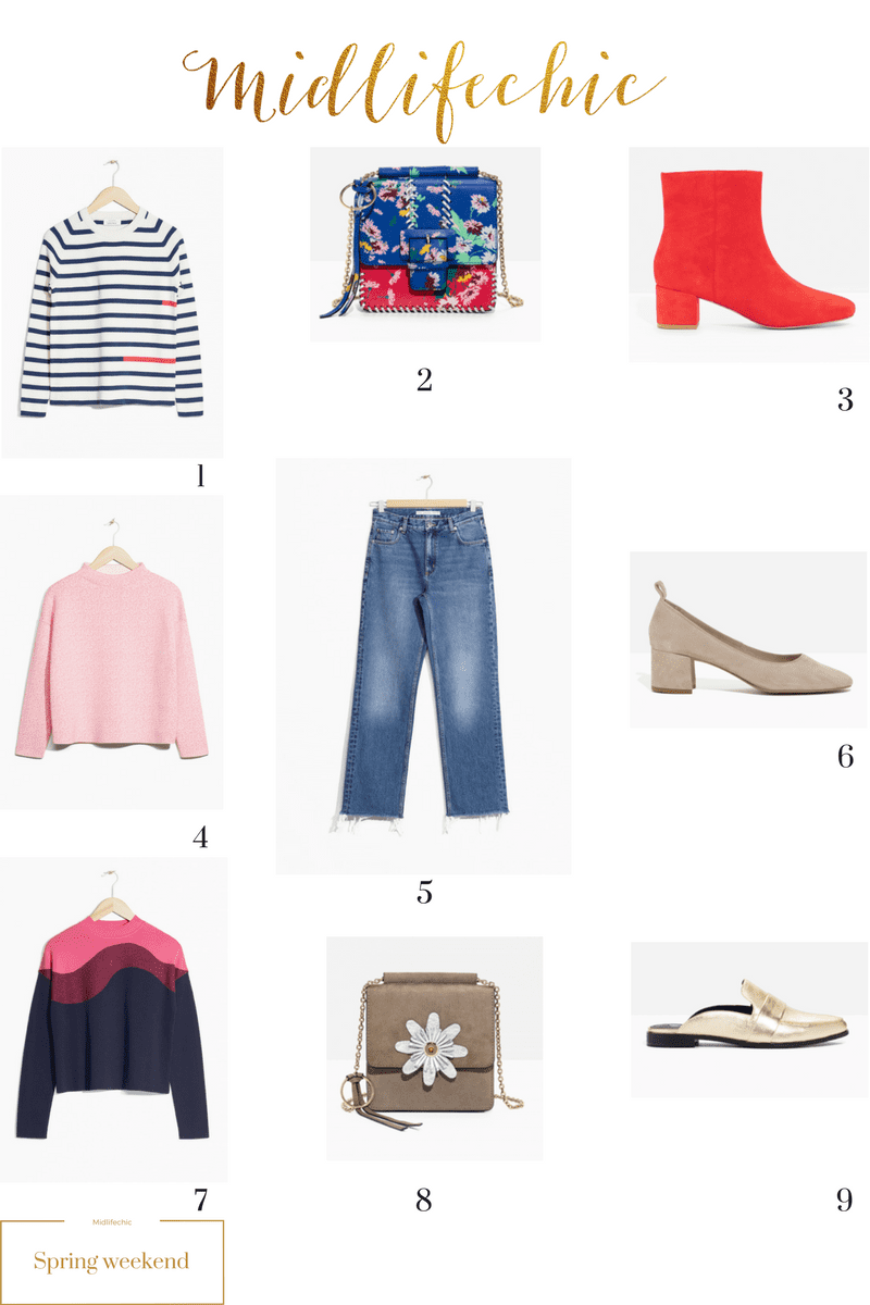 Spring 17 wardrobe updates for women over 40
