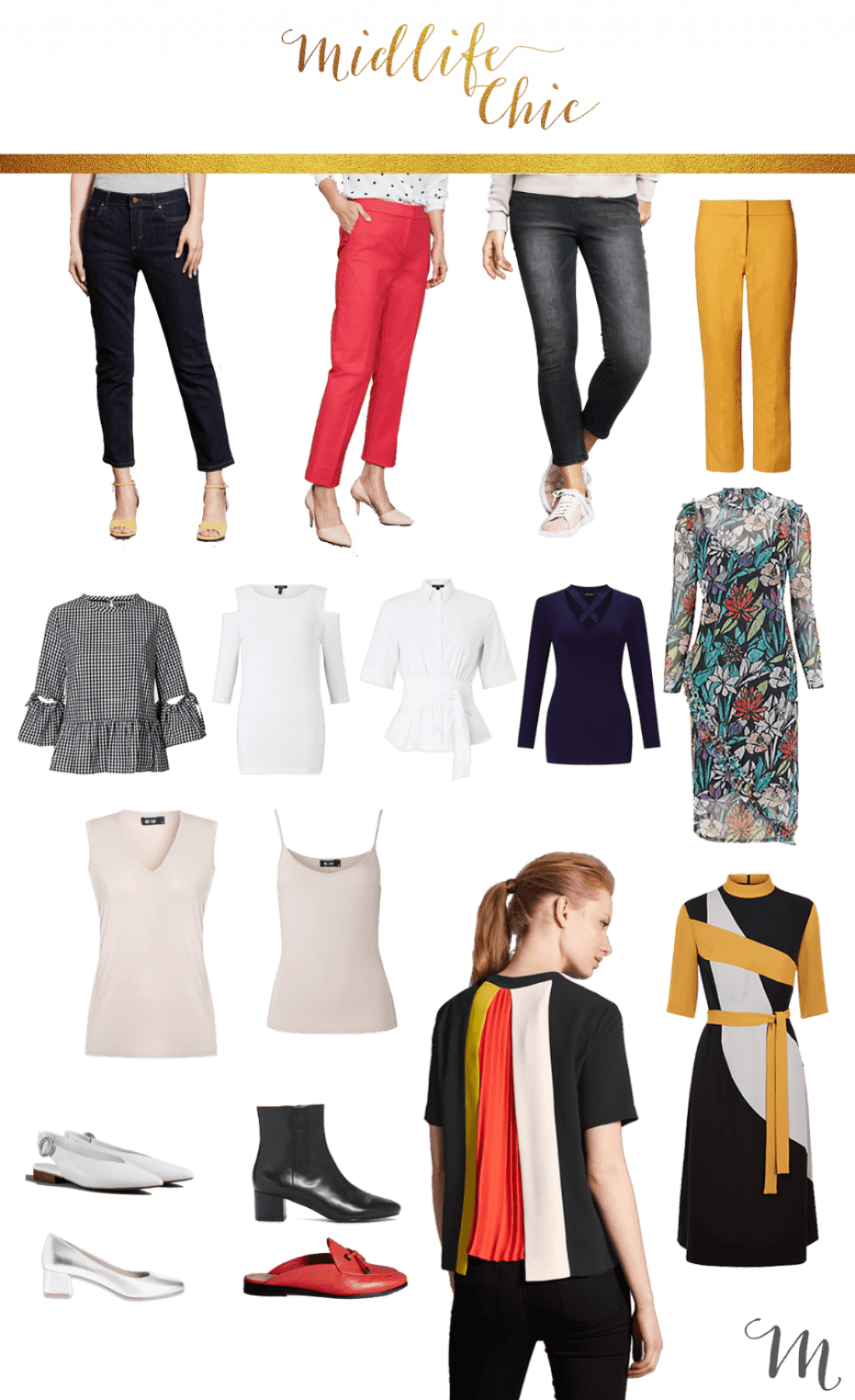 capsule wardrobe updates for women over 40