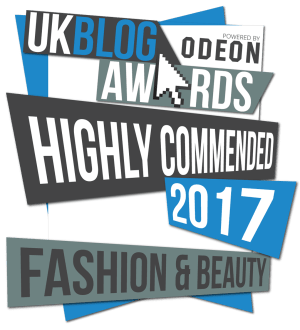 UK Blog Awards Finalist 2017 - Highly Commended