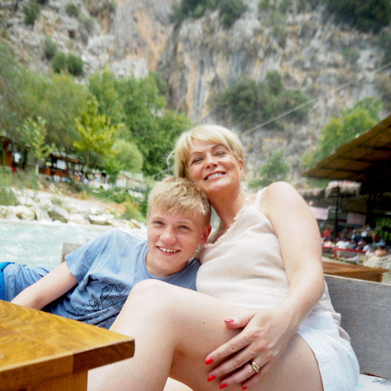 family holiday in Kalkan