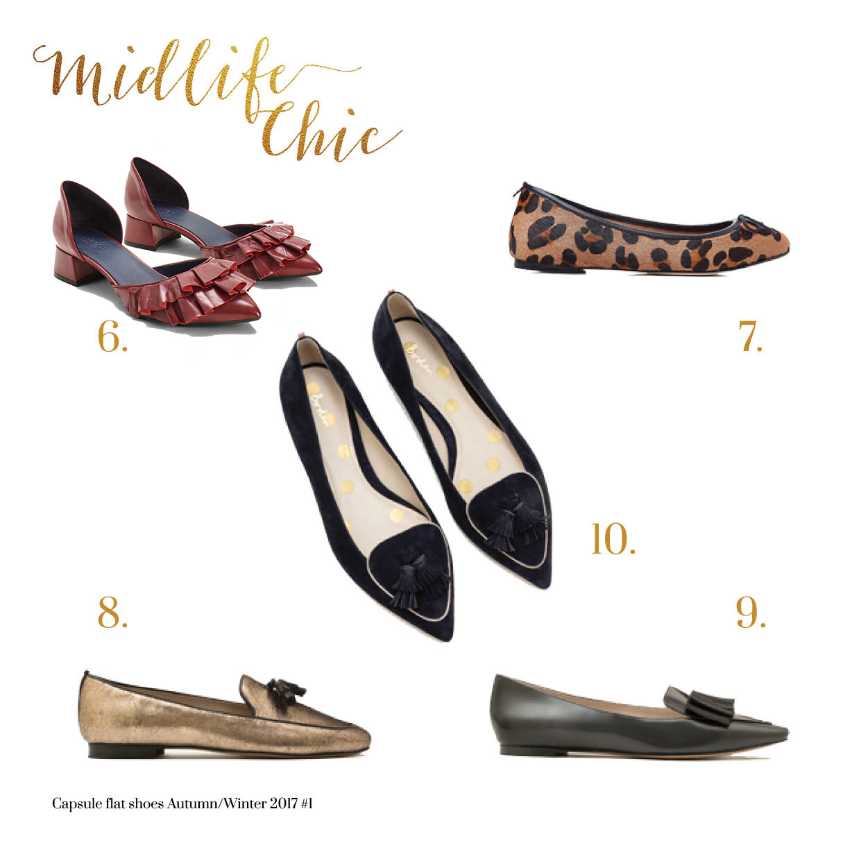Best statement flat shoes for women over 40