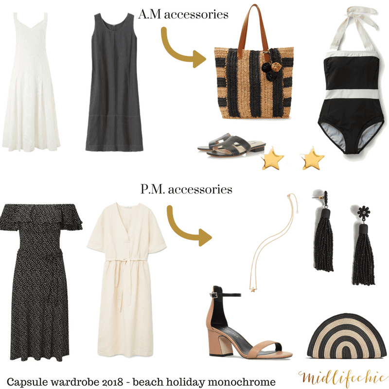 Capsule holiday wardrobe 2018