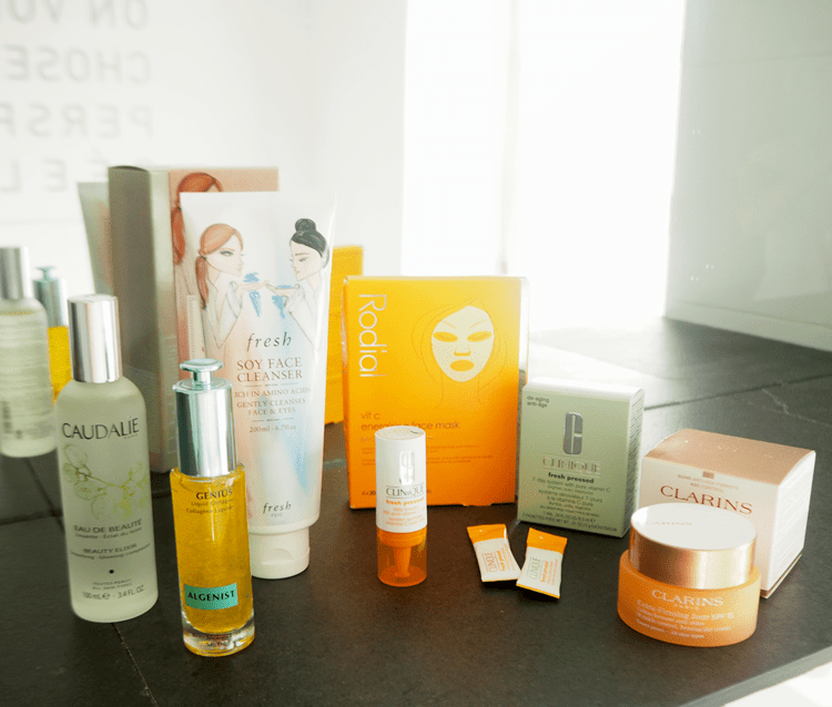 skincare régime tailored to summer