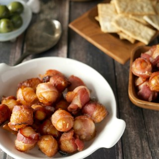 What's better than tropical flavored macadamia nuts? Bacon wrapped tropical macadamia nuts. Snack time just got real.