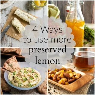 Four unique recipes to please the preserved lemon lover in your life.