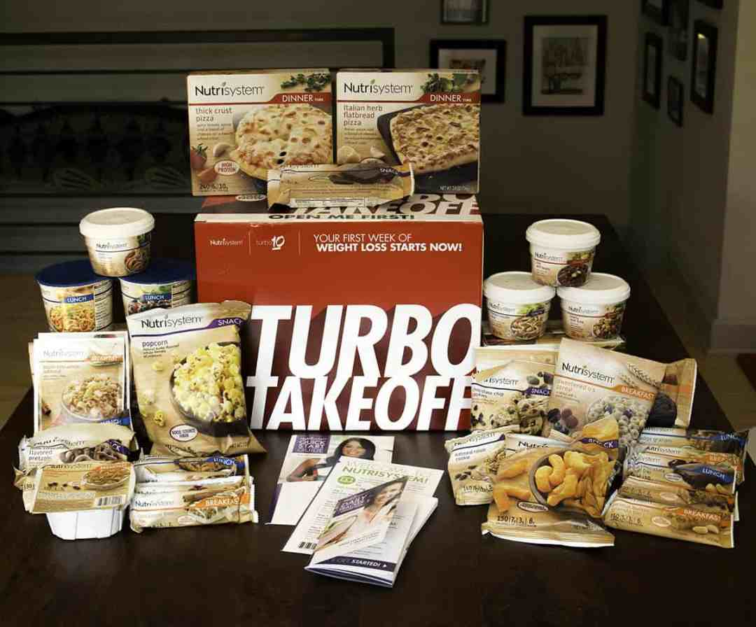Here's all the Nutrisystem prepared foods you get with the Uniquely Yours package.