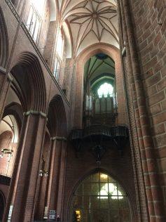 Inside St. Nikolai's Church
