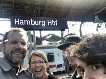 Midlife Sentence   family selfie in Hamburg