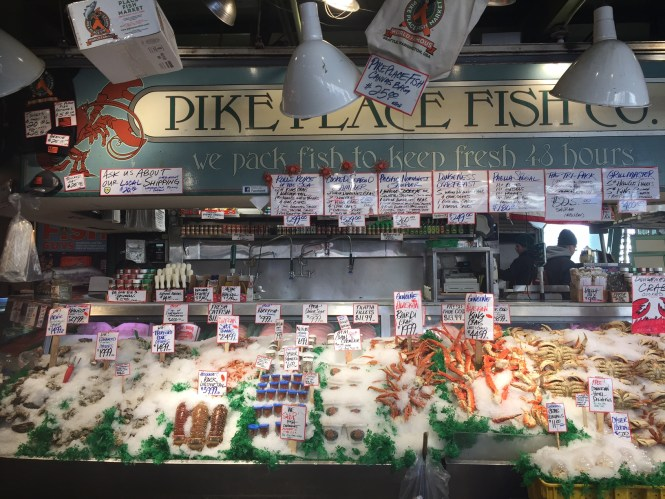 Midlife Sentence | Seattle Pike Place Fish Market