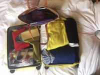 Traveling light - a neatly packed case