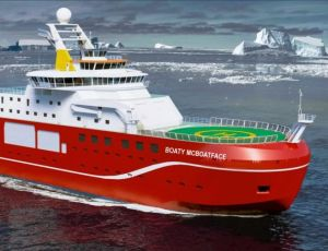 Boaty McBoatface competition