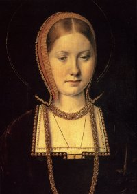 Painting of Henry VIII Wife Catherine of Aragon