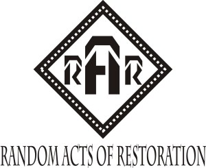Random Acts of Restoration - Undercover Preservation
