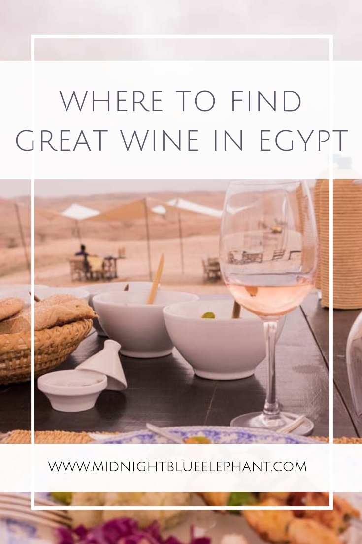Finding drinks in Egypt is a bit tricky. Finding good wine in Egypt was wholly unexpected until I came to El Gouna & was introduced to the Kouroum of the Nile winery and its treasures. #egypt #elgouna #wine