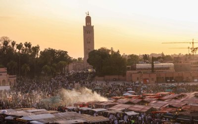 The Elephant's Guide to Marrakech, Morocco.