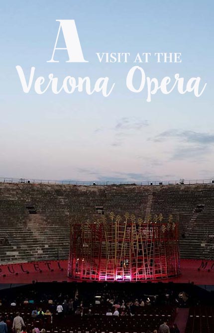 One thing you should not miss in the city of Romeo & Juliet is a visit at the opera in Verona. All about the arena di Verona and how to enjoy music in this unique setting. #verona #italy #opera
