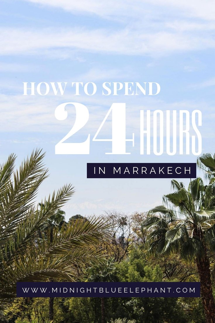 If you only have 24 hours in Marrakech better make them count. I am sharing my one day itinerary on what to do, what to see and which 5 star hotel in Marrakech to sleep at. #morocco #marrakech #mamounia #luxuryhotel #lamamounia