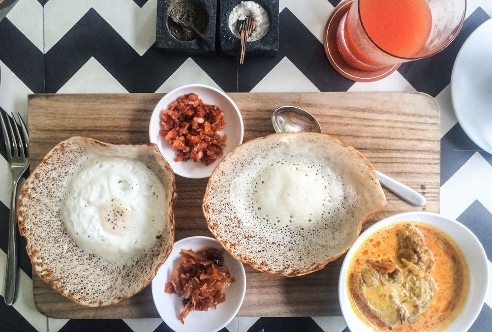 Breakfast time – Introducing the Sri Lankan Hopper.