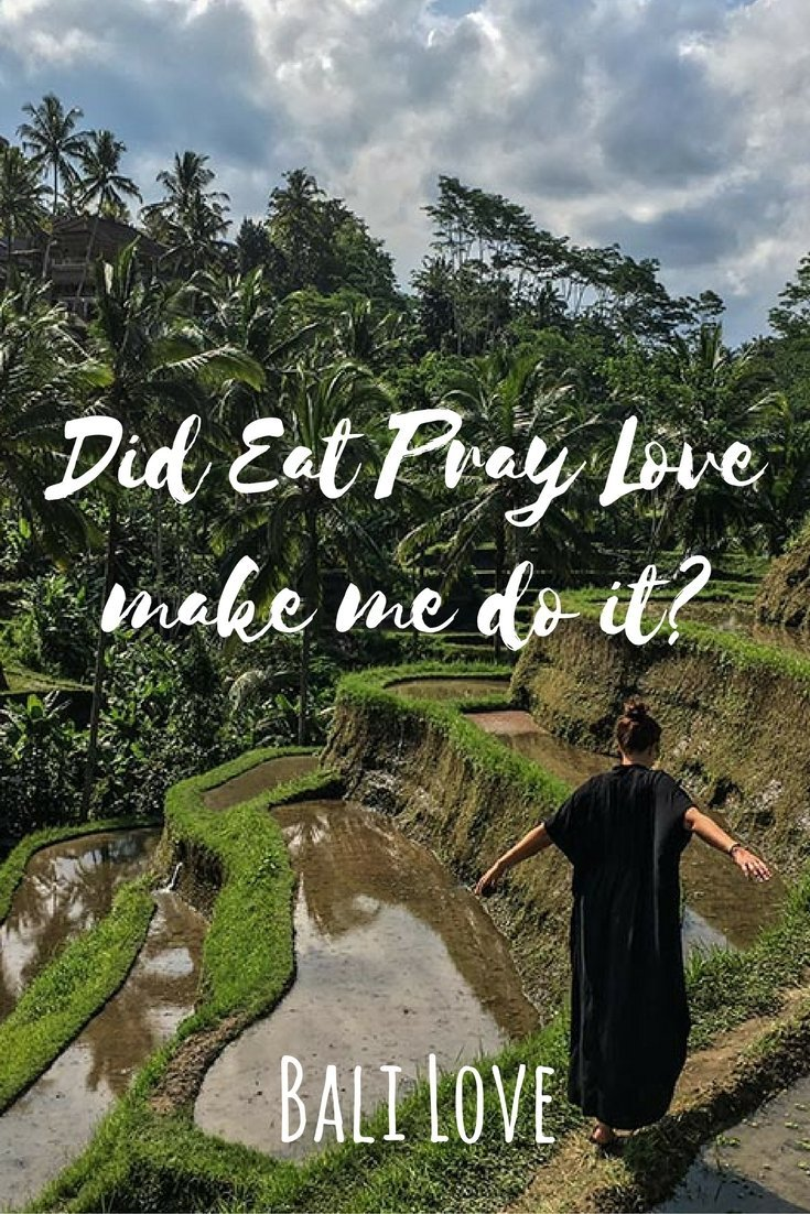 Did Eat Pray Love make me come to Bali? What did I really expect? Definitely not what I actually learned but worth a trip around the world.
