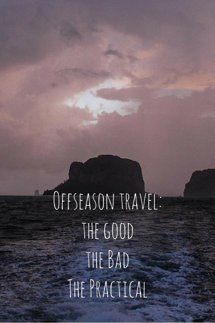 Offseason travel - love it or hate it? I put together a list of the good, the bad and the practical so you can be prepared when heading into rainy season!