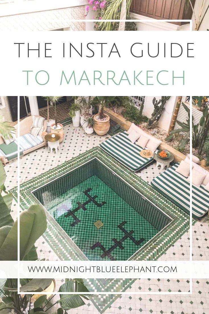 Where are the best places to take photos in Marrakech? Look no further because with #magicalmorocco I show you the most Instagrammable places in Marrakech and exactly where to find them. From the favorite riad on Instagram to the most beautiful doorporn in Morocco. #morocco #marrakech #instagram