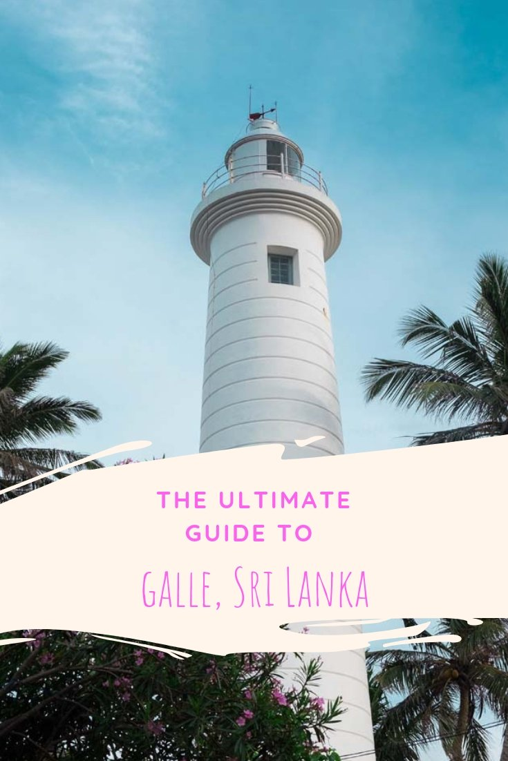 One of Sri Lanka's highlights is the historical town of Galle. What to do in Galle, where to sleep, what to eat & how to get there in this guide! #srilanka #galle