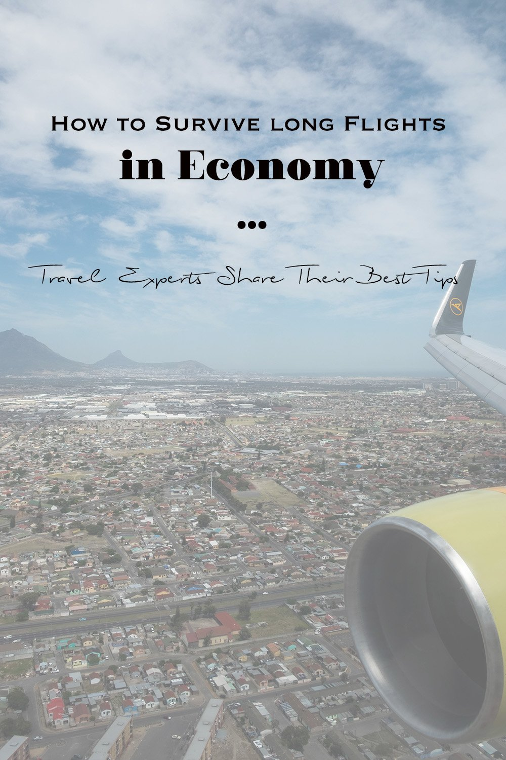 How to survive long flights in economy | Tips for flying economy class | Condor | South Africa