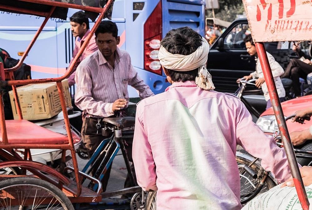 Maharajas Express – The beginnings: New Delhi, India.