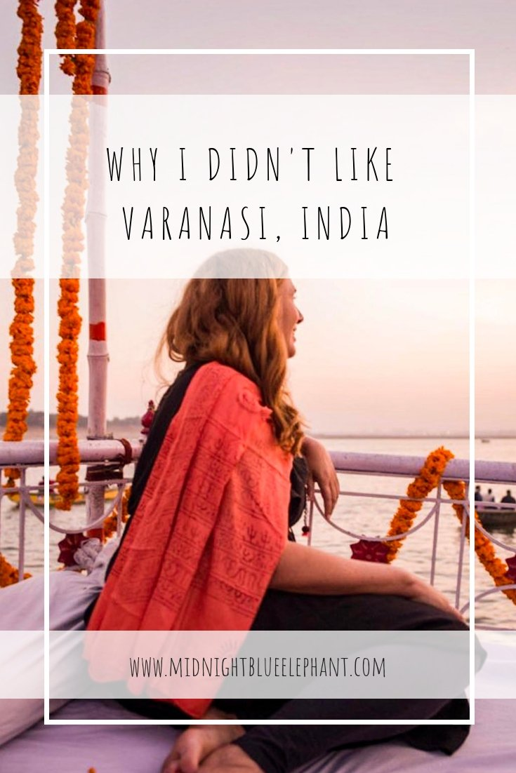 Varanasi and a trip down the river Ganges is a highlight for many India visitors. It also shows the discrepancy of the country: rich & poor, life & death, joy & sorrow. For me however, it was a disappointment - a personal post about traveling in India and when expectations don't live up to reality. #india #varanasi #incredibleindia