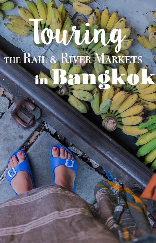 Keen to explore the railway market Bangkok and the floating markets of the city? Join Bangkok Food Tours for an incredible yummy experience in Thailand. #thailand #bangkok #railwaymarket #foodtour #floatingmarket