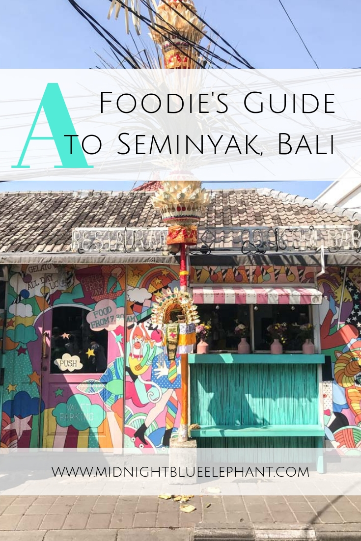 Heading to Bali? I share my 12 favorite restaurants in Seminyak for modern Indonesian, best tacos, vegan food and a romantic dinner spot with beach view.  Where to find the best restaurants in Bali | Best Restaurants in Seminyak | Where to eat in Seminyak | Best vegan food in Bali | Best Cafes in Seminyak, Bali #indonesia #bali #seminyak
