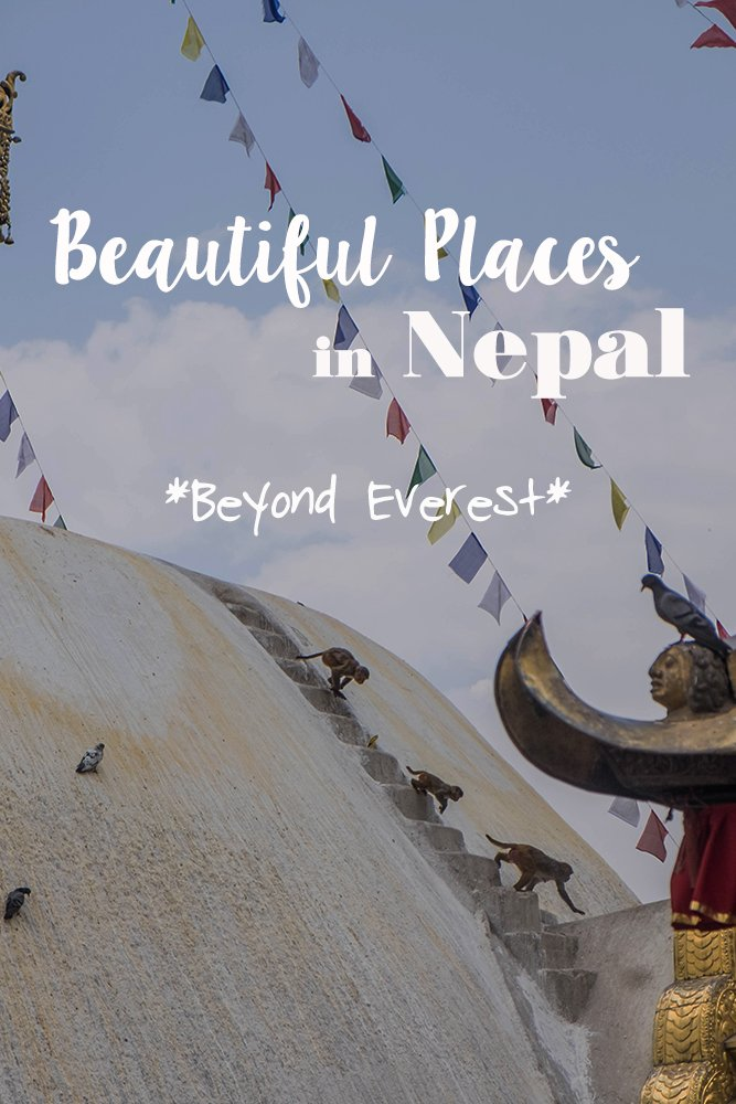Nepal is so much more than trekking in the Himalayas. Where to go and what to see? I show you the beautiful places of Nepal - from Everest and beyond. #nepal #kathmandu #pokhara #everest #himalayas #chitwan #rhinos