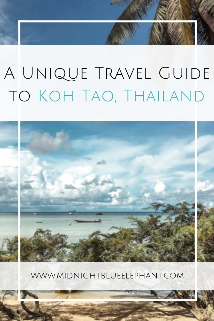 Heading to the Gulf of Thailand? Don't miss a visit to the Turtle Island biased with my travel guide Koh Tao with the best places to eat, sleep & all the things to do. #thailand #kohtao #islandlife #thaiisland #kohtao