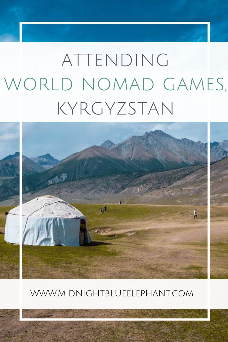 Wondering what it was like to attend the World Nomad Games 2018 in Kyrgyzstan? An honest account about my experience during the WNG, the athletes & nomadic traditions on show. #kyrgyzstan #wordnomadgames #wng2018 #nomadgames #isseykul #bishkek
