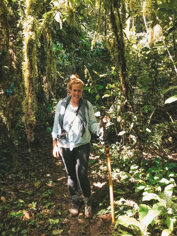 Heading to Uganda, Rwanda or Congo for a gorilla trek and don't know what you will need? My complete packing list for trekking clothes when hiking in the rainforest.