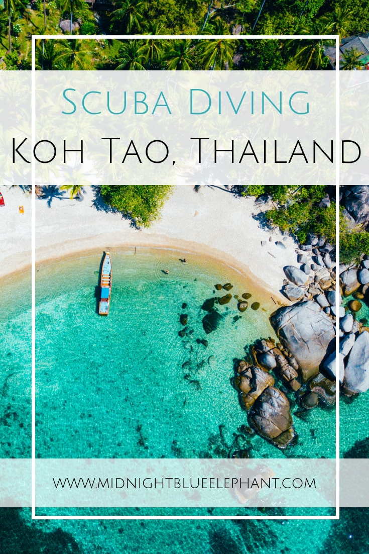 Want to get wet? Try Koh Tao diving as the island is the perfect place to learn scuba diving in Thailand. Read more what makes it such an underwater paradise. #kohtao #thailand Scuba diving in Koh Tao | Where to dive in Thailand | Seeing whale sharks in Thailand | Koh Tao dive centers