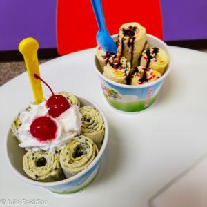 Thai Rolled Ice Cream