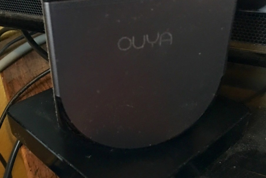 Forge TV on top of Ouya