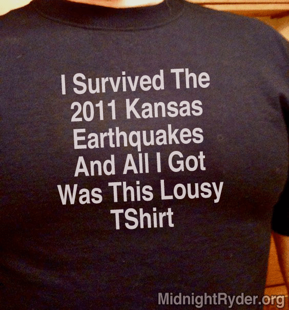I Survived the 2011 Kansas Earthquakes