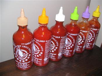 Sriracha chili sauces